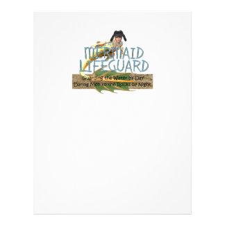 TEE Mermaid Lifeguard 21.5 Cm X 28 Cm Flyer