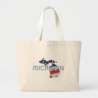 TEE Michigan Patriot Jumbo Tote Bag