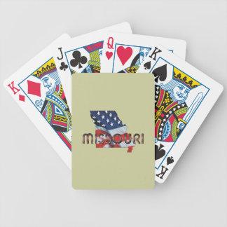 TEE Missouri Patriot Poker Deck