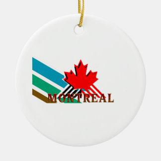 TEE Montreal Christmas Ornament