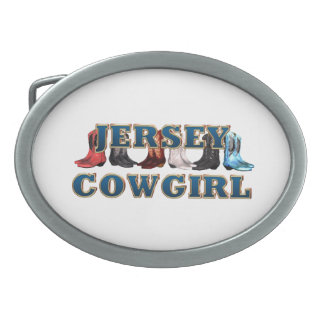 TEE New Jersey Cowgirl Belt Buckles