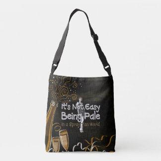 TEE Not Easy Being Pale Tote Bag