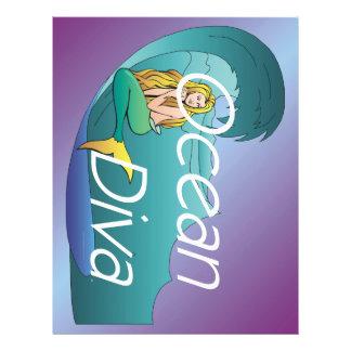TEE Ocean Diva Flyers