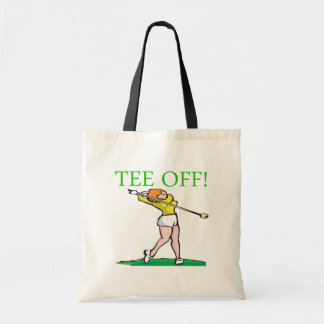 Tee Off Tote Bags