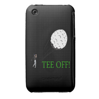 Tee Off iPhone 3 Case-Mate Cases