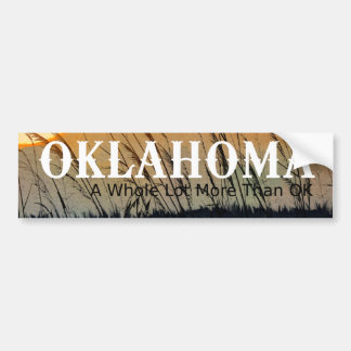 TEE Oklahoma Bumper Sticker