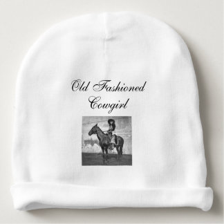 TEE Old Fashioned Cowgirl Baby Beanie
