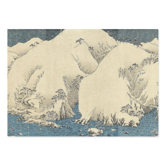TEE Orient Snow Business Card Templates