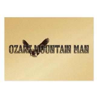 TEE Ozark Mountain Man Pack Of Chubby Business Cards