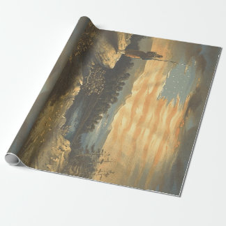 TEE Patriotic Sky Wrapping Paper