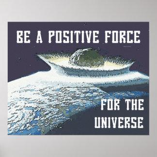 TEE Positive Force Print
