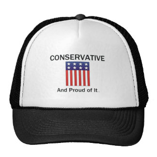 TEE Proud Conservative Trucker Hats