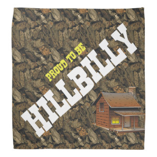 TEE Proud to be Hillbilly Bandana