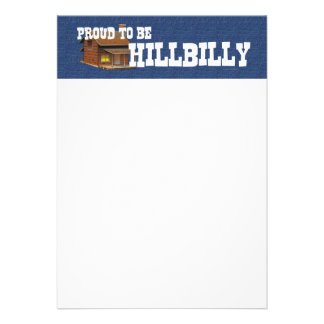 TEE Proud to be Hillbilly Card