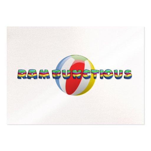 TEE Rambunctious Business Cards