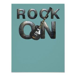 TEE Rock On Personalized Invite