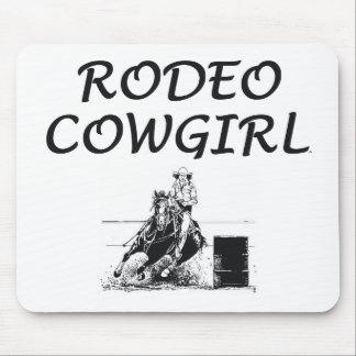 TEE Rodeo Cowgirl Mouse Mat
