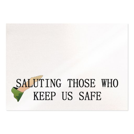 TEE Saluting Business Card