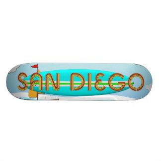 TEE San Diego 20.6 Cm Skateboard Deck
