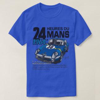 Tee-shirt 24:00 of Mans 1964, blue T-Shirt