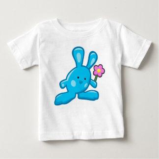 Tee-shirt baby - blue Rabbit Baby T-Shirt