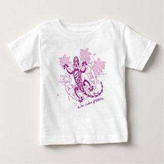 Tee-shirt baby girl horoscope lizard F Baby T-Shirt