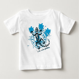 Tee-shirt baby horoscope lizard baby T-Shirt