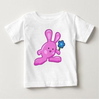 Tee-shirt baby - Pink Rabbit Baby T-Shirt