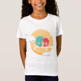 Tee-shirt BASIC Girl Animals T-Shirt