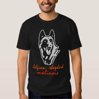 tee-shirt belgian malinois tee shirts