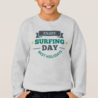 Tee-shirt Boy Surfing Sweatshirt