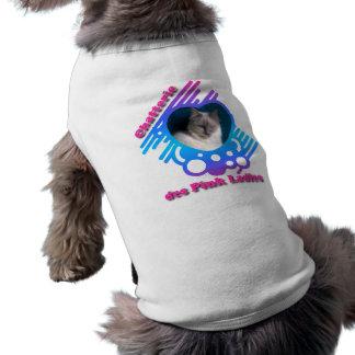"""Tee-shirt (cat/dog) with the photograph of """"Elo Ki Pet Tee Shirt"""