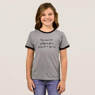 """tee-shirt child """"old men """" ringer T-Shirt"""