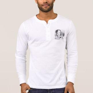 Tee-shirt cotton buttoned Collar T-Shirt
