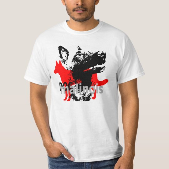 tee-shirt dogmali malinois T-Shirt