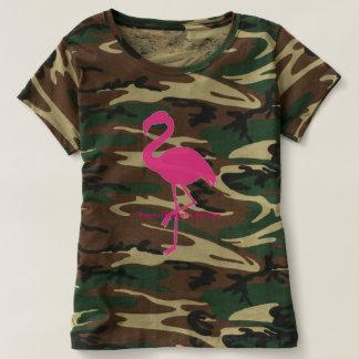 Tee-shirt Flemish pink camouflage T-Shirt