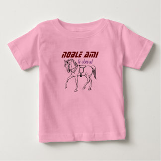 tee-shirt friendly noble horse baby T-Shirt