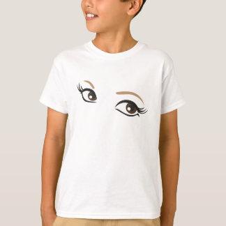 tee-shirt glance, eyes tees
