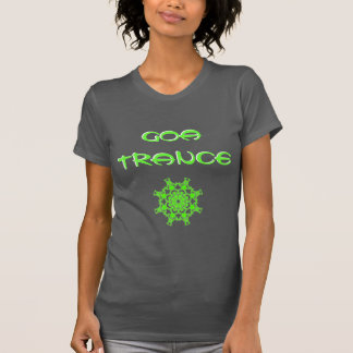 Tee-shirt Goa Trance Chakra Green T Shirt