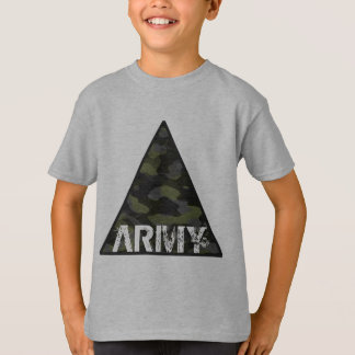 Tee-shirt Hanes TAGLESS® for child, ARMY T-Shirt