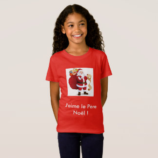 "Tee-shirt ""I love the Father Christmas "" T-Shirt"