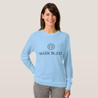 tee-shirt long sleeves gray traditional logo T-Shirt
