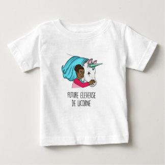 "Tee-shirt MC ""Future éleveuse of Unicorn "" Baby T-Shirt"