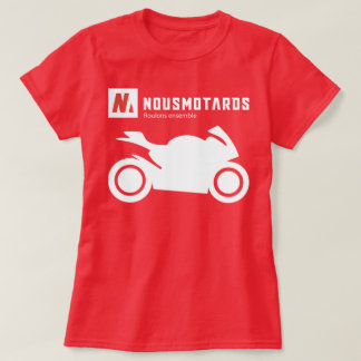 Tee-shirt Nousmotards Sporting Woman T-Shirt