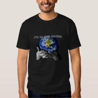 Tee Shirt - Peaceful Organnic Planet