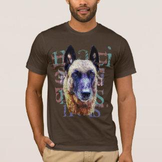 tee-shirt portrait malinois T-Shirt