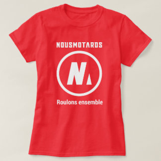 Tee-shirt Red Nousmotards Woman T-Shirt