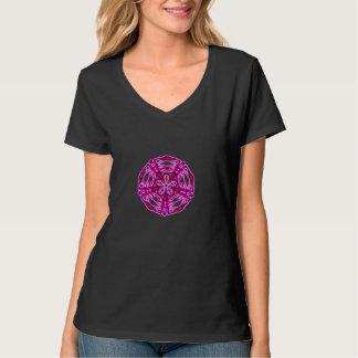 Tee-shirt ribs pink tees