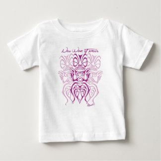 Tee-shirt white baby girl 3 tiki baby T-Shirt