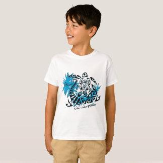 Tee-shirt white child Polynesian tortoise T-Shirt